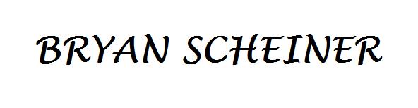 Bryan Scheiner
